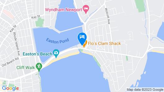 Newport Beach Hotel & Suites Map