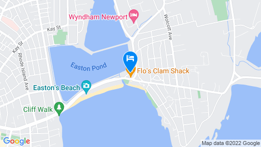 Atlantic Beach Hotel Newport Map