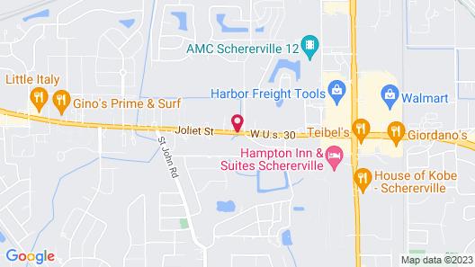 Lee Motel Map