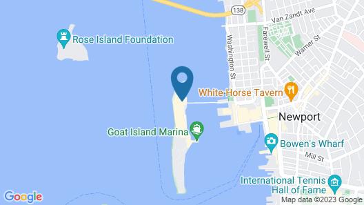 Gurney's Newport Resort & Marina Map