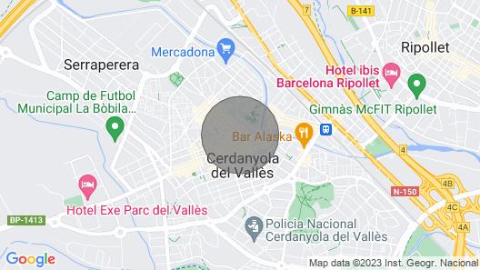 Apto. Cerdanyola Centro A 10' DE LA UAB Map