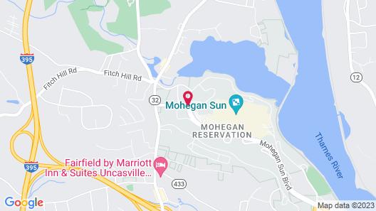 Mohegan Sun Map