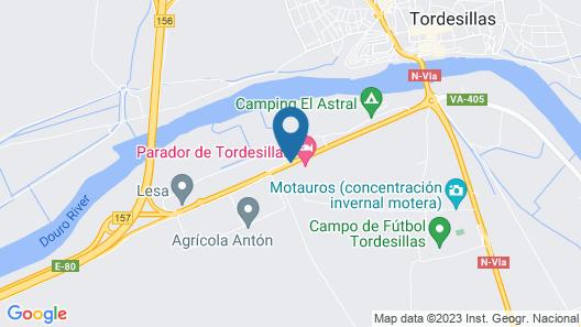 Parador de Tordesillas Map
