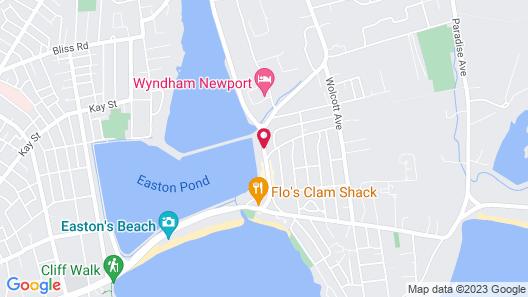 Sea Whale Motel Map