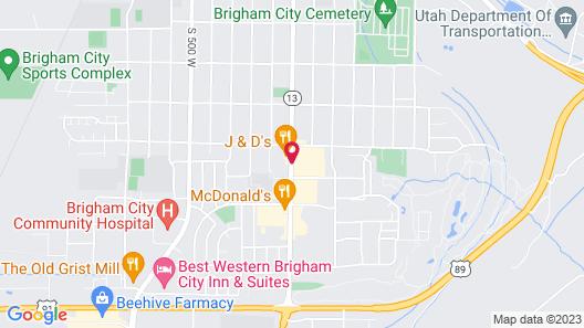 Galaxie Motel Map
