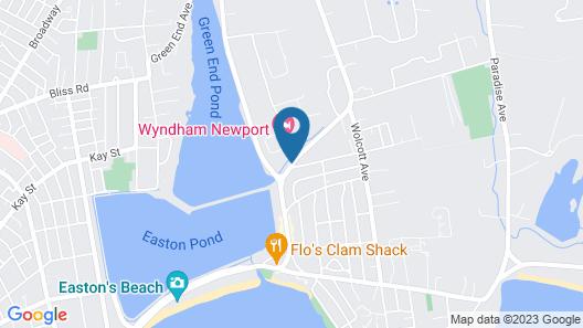 Wyndham Newport Hotel Map