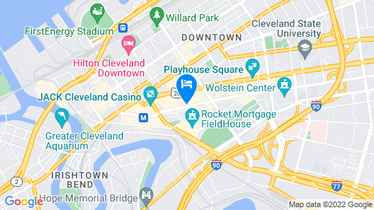 Residence Inn By Marriott Cleveland Downtown Map