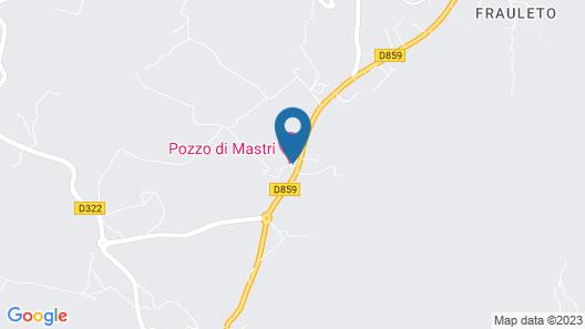 Pozzo di Mastri Map