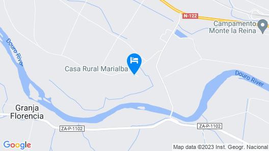 Hotel Rural Marialba Map