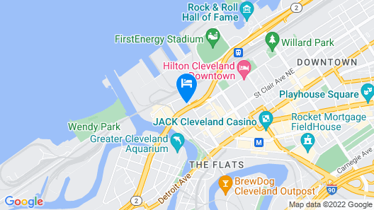Stay Alfred at Flats East Map