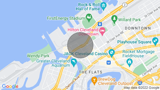 Downtown Cleveland Condo with City View! Map