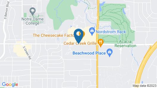 Hyatt Place Cleveland/Lyndhurst/Legacy Village Map