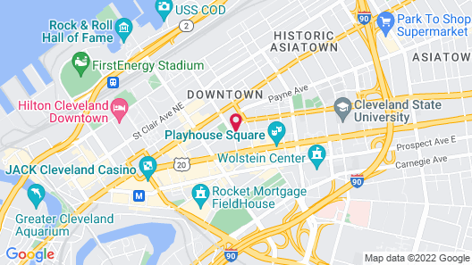 Stay Alfred on 12th Street Map