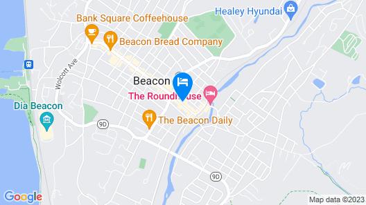 The Beacon Hotel Map