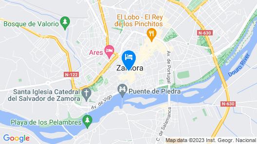 Apartamento Señorita Escarlata Map