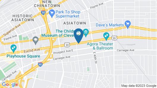 University Hotel & Suites Map