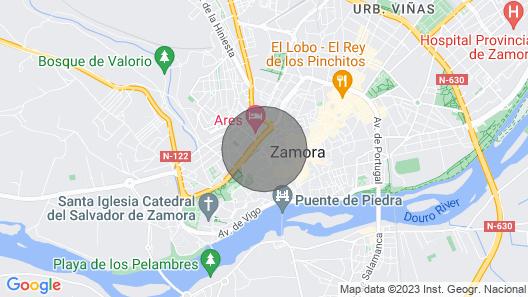 La Muralla Apartments Map