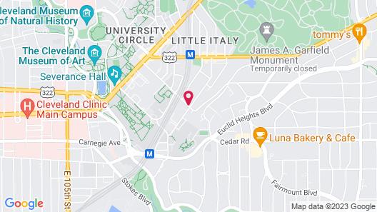 Washington Place Bistro & Inn Map
