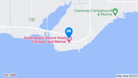 South Beach Resort Hotel Map