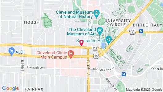 Residence Inn by Marriott Cleveland University Circle/Medical Center Map