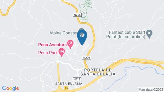 Pena Park Hotel Map