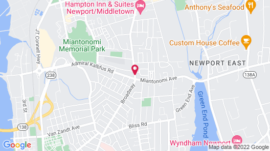 Rodeway Inn Middletown Map