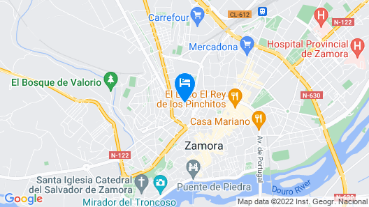 Hotel Jarama Map