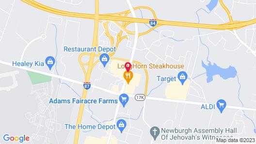 Super 8 by Wyndham Newburgh/West Point Near Stewart Airport Map