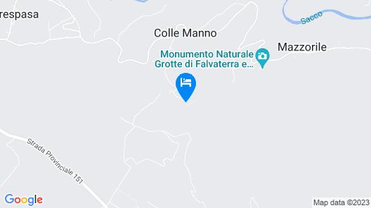 Villaggio Fabra Casa Mia e non solo... Map