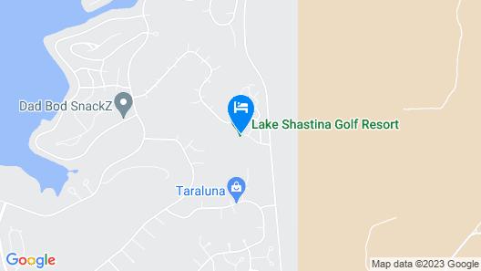 Lake Shastina Golf Resort Map