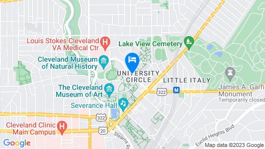 The Glidden House Map