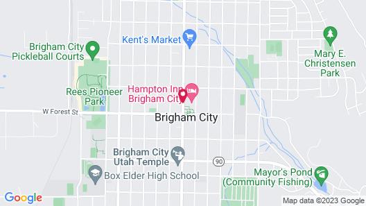 Hampton Inn Brigham City Utah Map