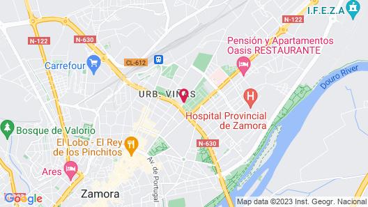 AC Hotel Zamora by Marriott Map