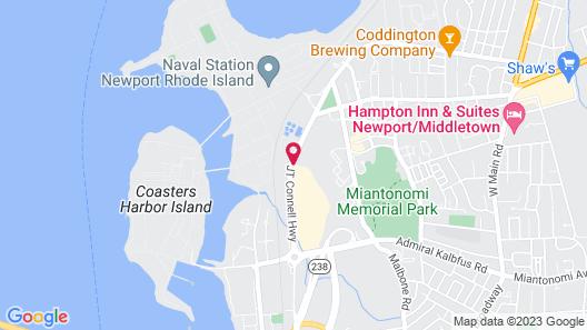 Motel 6 Newport, RI Map