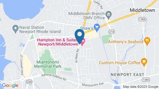 Residence Inn by Marriott Newport/Middletown Map