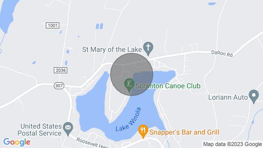 Lake Front Property Map