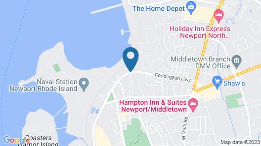 Harbor Base Pineapple Inn Map