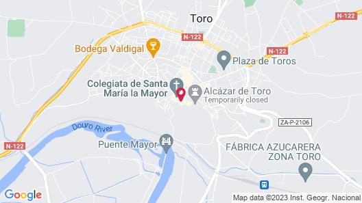 Hospedium Hotel Juan II Map
