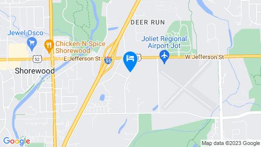 Wingate by Wyndham - Joliet Map