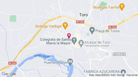 Apartamentos Albero Map