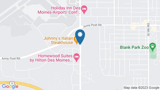 Fairfield Inn & Suites by Marriott Des Moines Airport Map