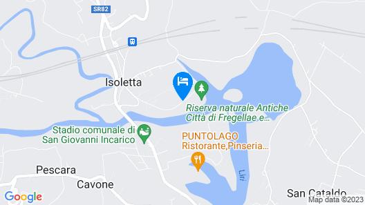 Casa Colle Caronte Map