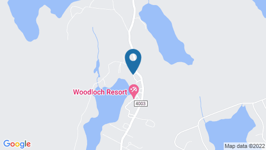 Woodloch Pines Resort Map