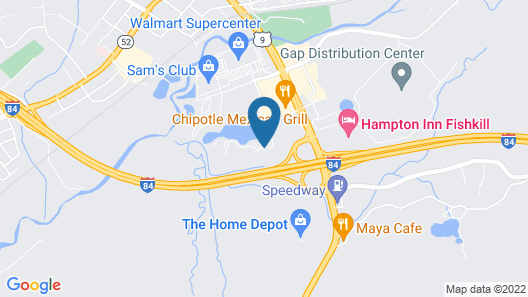 SpringHill Suites by Marriott Fishkill Map