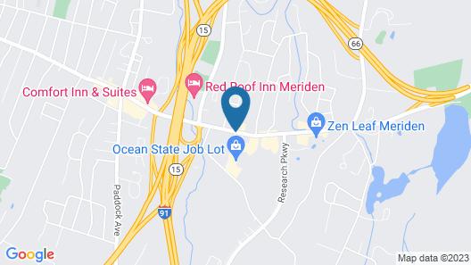 MainStay Suites Hartford Meriden Map