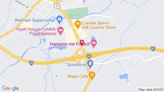 Hampton Inn Fishkill Map
