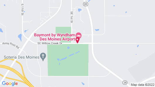 Baymont by Wyndham Des Moines Airport Map