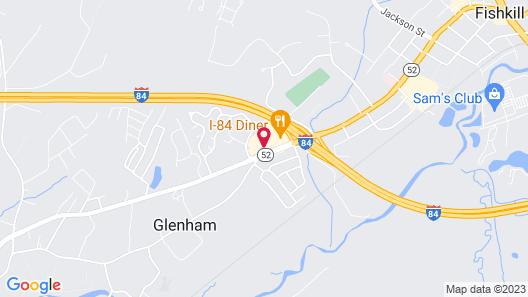 Comfort Suites Fishkill near Interstate 84 Map