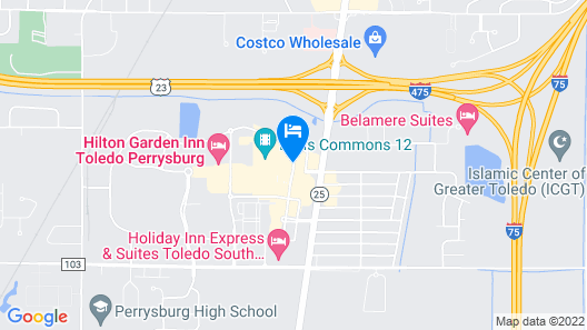 Home2 Suites by Hilton Perrysburg Levis Commons Toledo Map