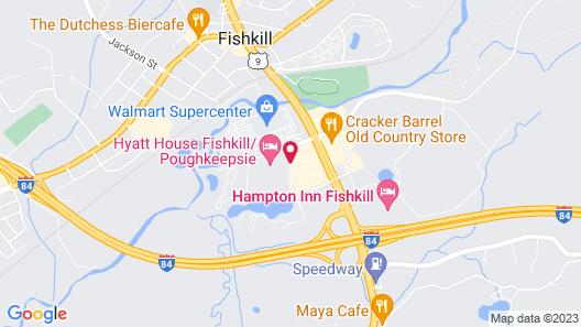 HYATT house Fishkill/Poughkeepsie Map
